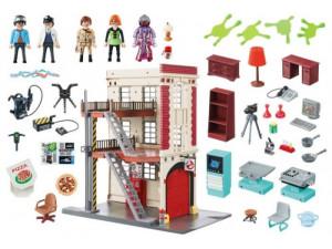 Playmobil Охотники за привидениями: Здание пожарной службы