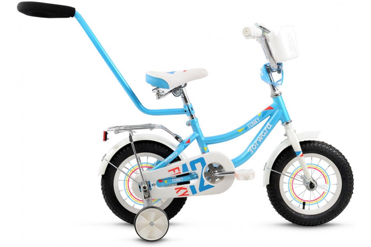 "Велосипед 12"" Forward Funky girl Голубой"