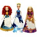 Disney Princess Принцесса в в юбке с проявляющимся принтом в ассортименте Hasbro