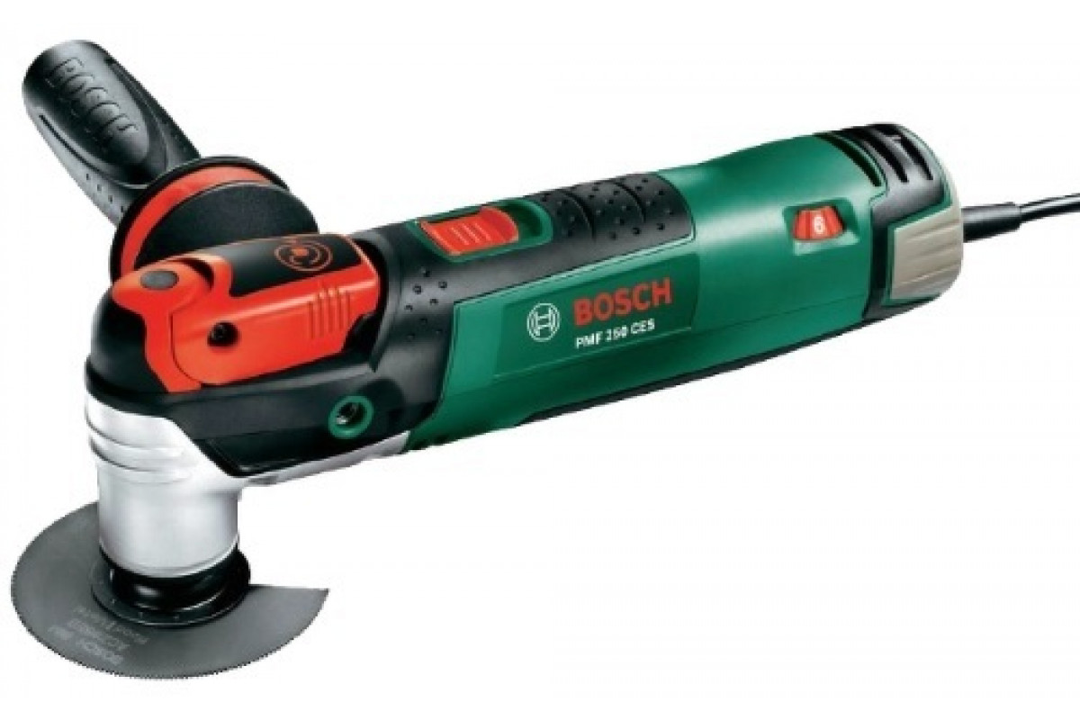 Многофункциональный инструмент Bosch PMF 250 CES (0.603.102.120)  250Вт 15000–20000 об/мин 0603102120