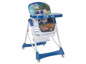 Pituso Bonito - стульчик для кормления Кораблик лазурный