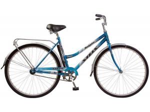 """Велосипед Stels Navigator 28"""" 305 Lady Z010 (с корзиной) (LU084787) Морская волна"""