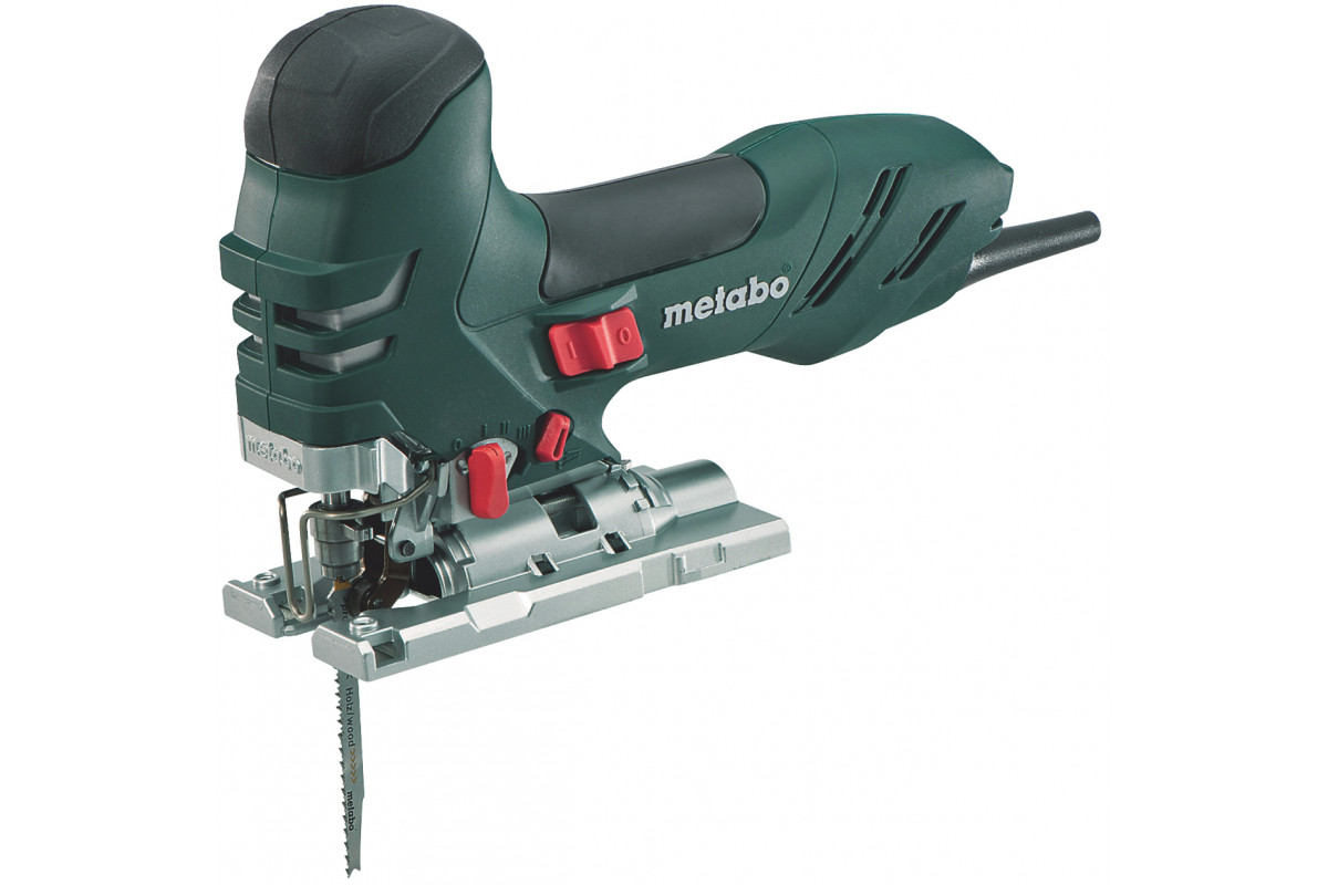 Лобзик Metabo STE 140 (601401000)  750Вт 1000-3100ход/мин 140мм-дер 35мм-мет маятниковый в коробке