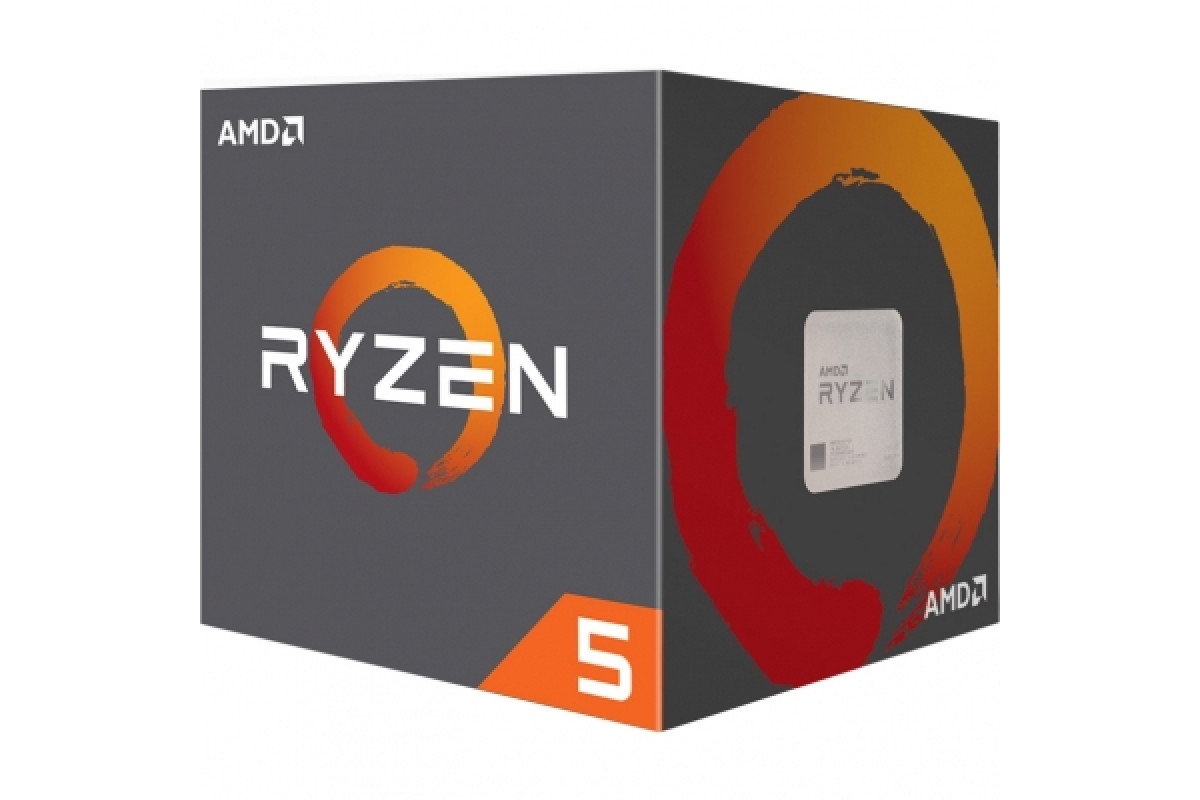 Процессор AMD Ryzen 5 1400 AM4 BOX, YD1400BBAEBOX