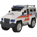 HTI Roadsterz Машинка Внедорожник скорой помощи 4х4 со светом и звуком
