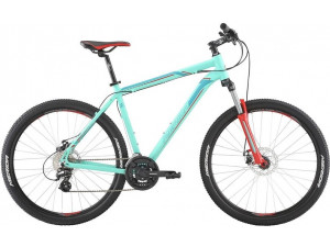"Велосипед Merida Big Seven 15-MD MattBlue/Blue/Red 2019 L(18.5"")(33836)"