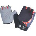 Перчатки вело детские Indigo 4XS Черно-серый