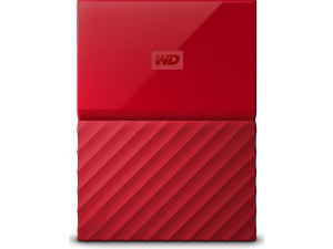 "Внешний жёсткий диск WD My Passport WDBBEX0010BRD-EEUE 1TB 2,5"" USB 3.0 Red"