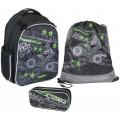 Рюкзак школьный Magtaller Stoody II, Quadbike, с наполнением