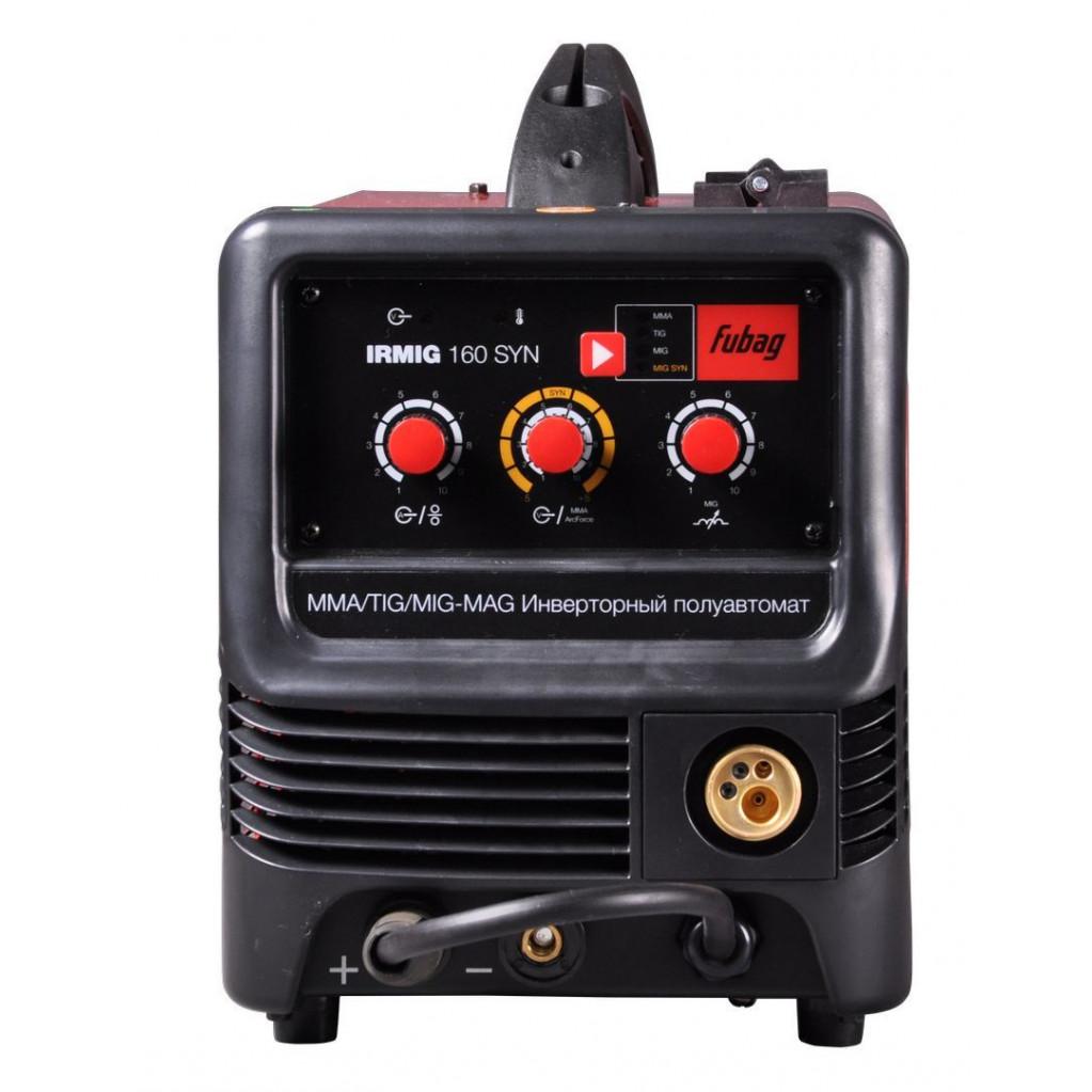 Сварочный аппарат FUBAG IRMIG 160 SYN (38641) полуавтомат + горелка FB 150 3м