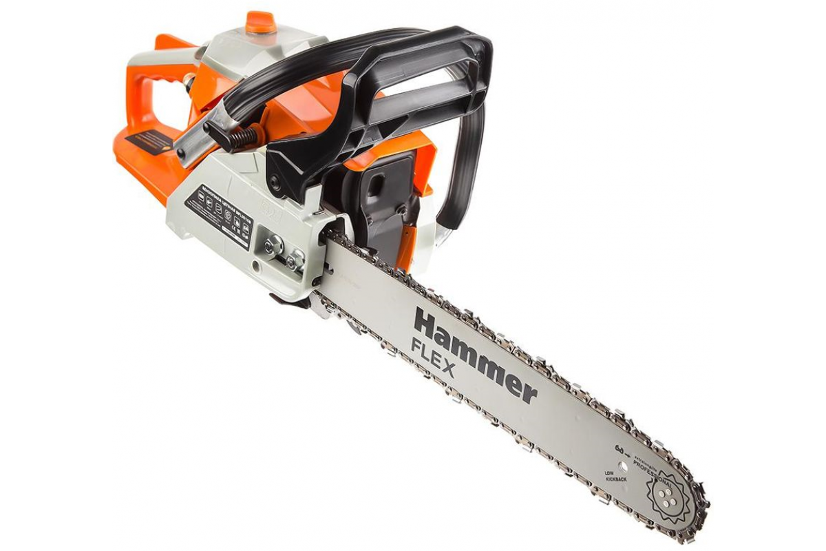 "Бензопила Hammer Flex BPL3816B  1.47кВт, 38см3, шина 16"" цепь 3/8""-1.3мм-56"