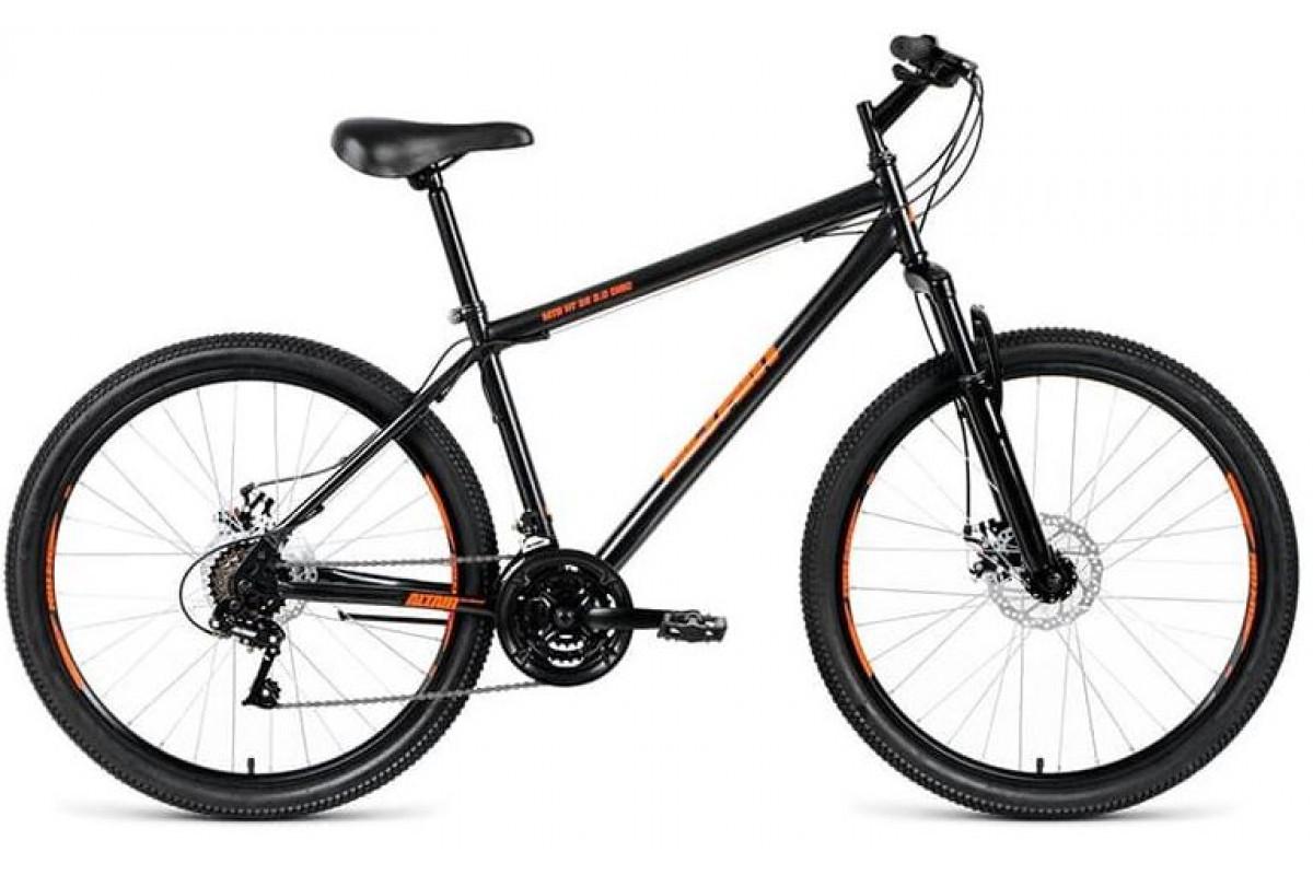 "Велосипед 26"" Altair MTB HT 26 2.0 Disc 6 ск Черный (18-19 г) 19' RBKN9MN6P005"