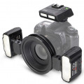 Фотовспышка Meike MK-MT24SⅡ TTL макро для Canon