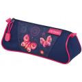 Herlitz Пенал-косметичка TRIANGULAR Butterfly Dreams