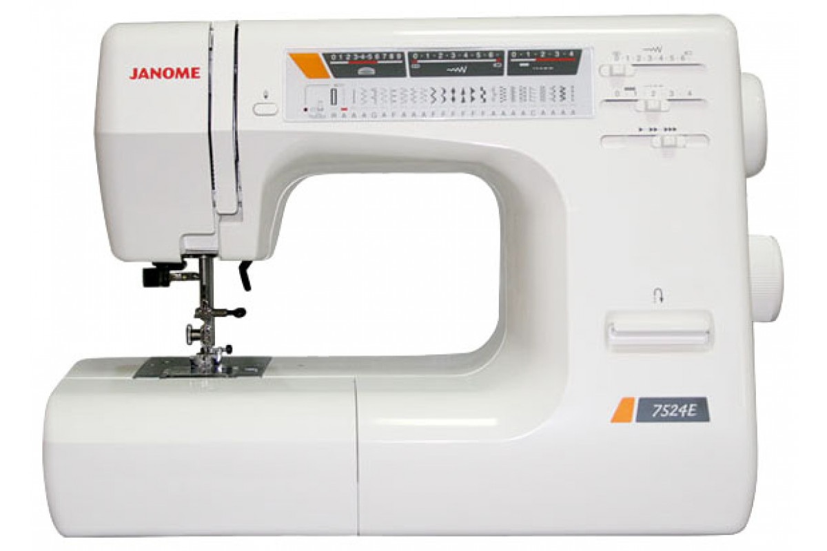 Швейная машина Janome 7524E белый
