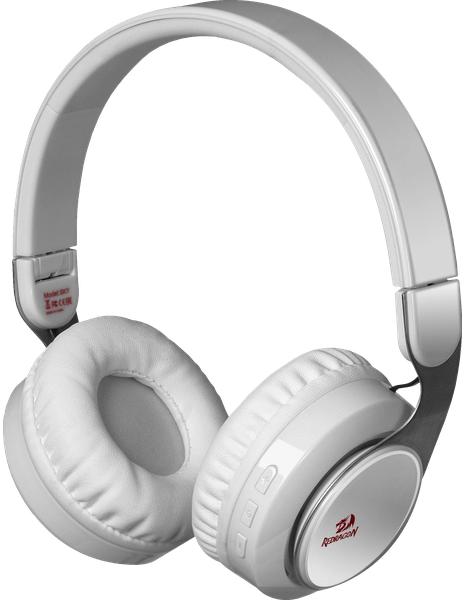 Беспроводная гарнитура Redragon Private Sky W белый, Bluetooth