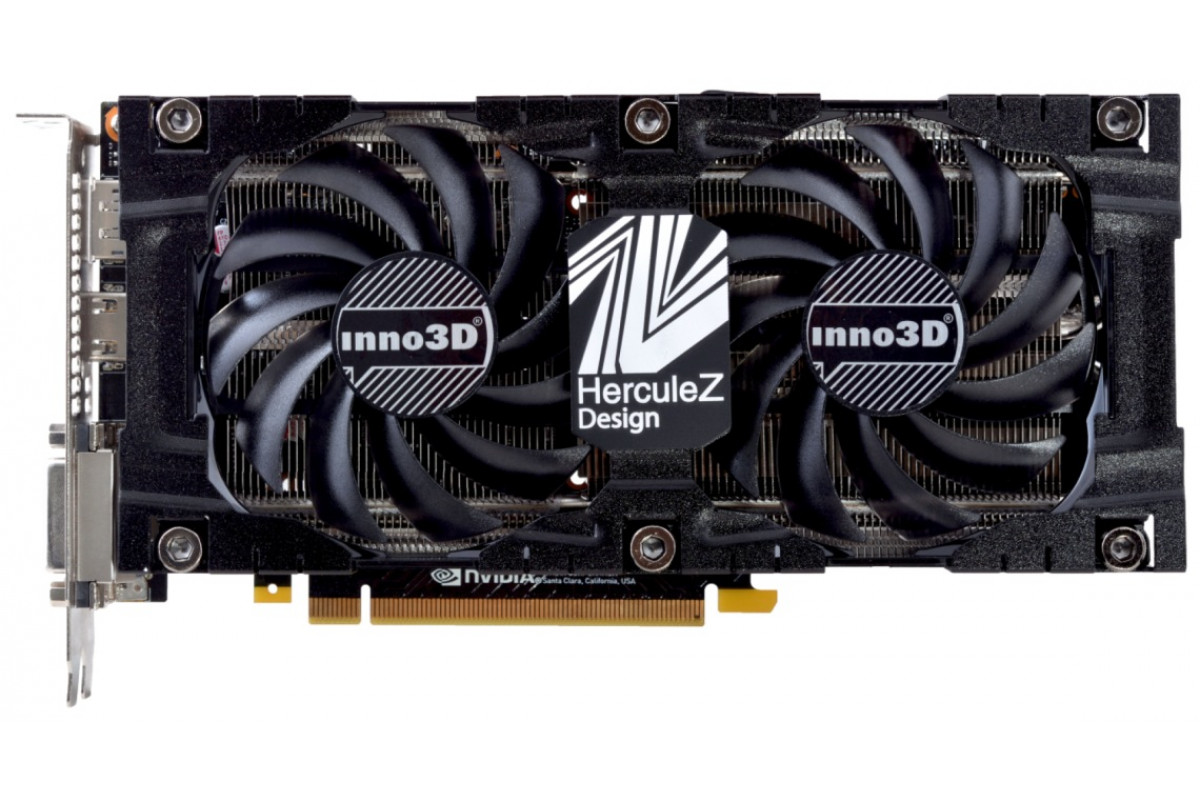 Видеокарта Inno3D GeForce GTX 1070 TwinX2 V3 (1506Mhz / 8.0Gbps) / 8GB GDDR5 / 256-bit / Dual DVI + DP + HDMI / VA10 / GP104F8511