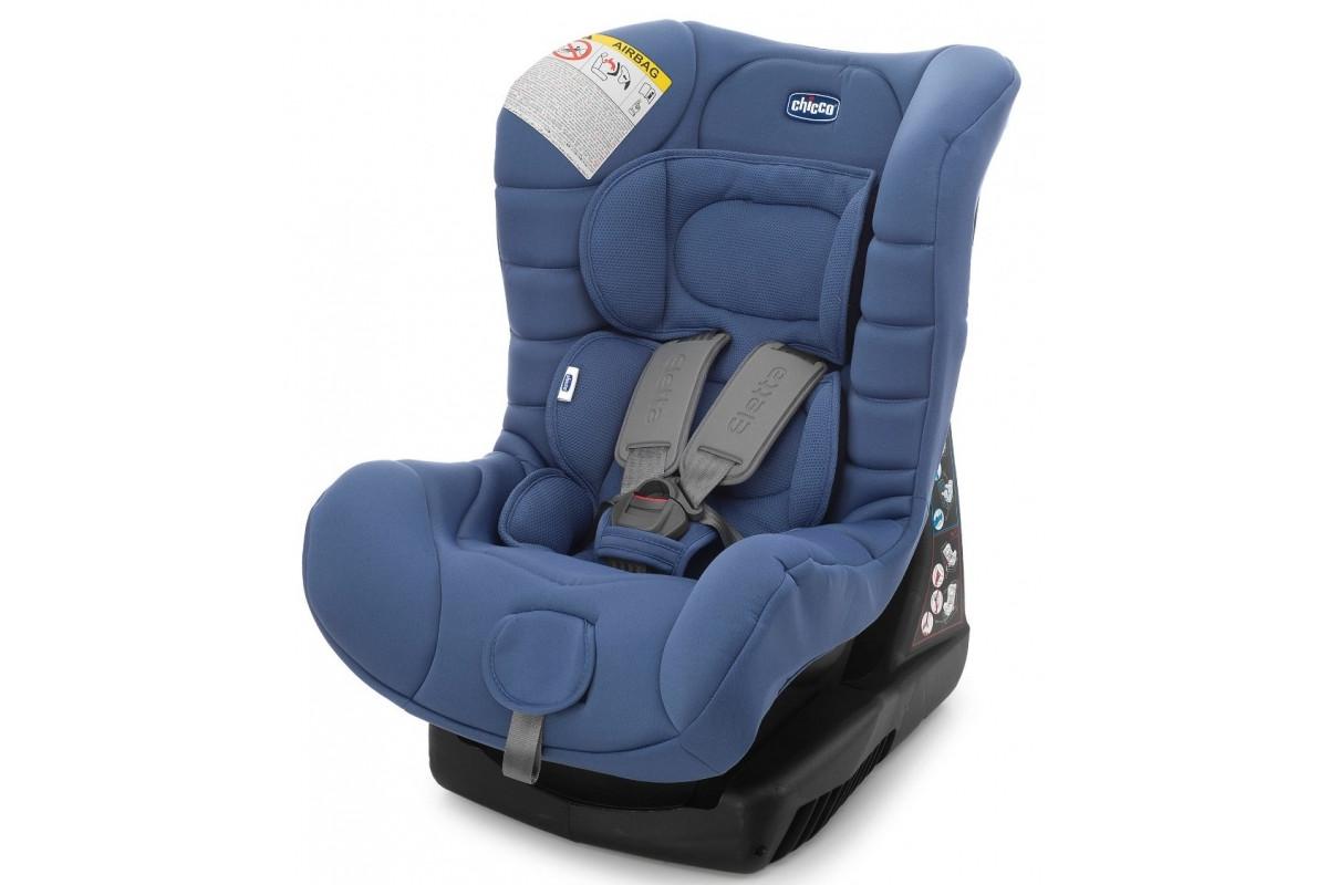 Chicco Eletta - детское автокресло 0-18 кг Blue Sky (Группа 0+/1)