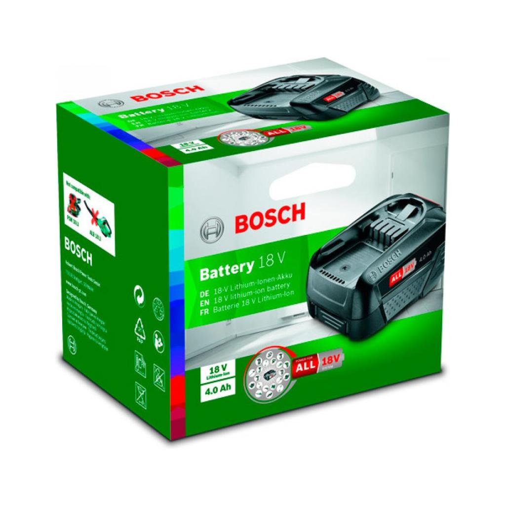 Батарея аккумуляторная Bosch PBA W-C 18В 4Ач Li-Ion (1600A011T8)