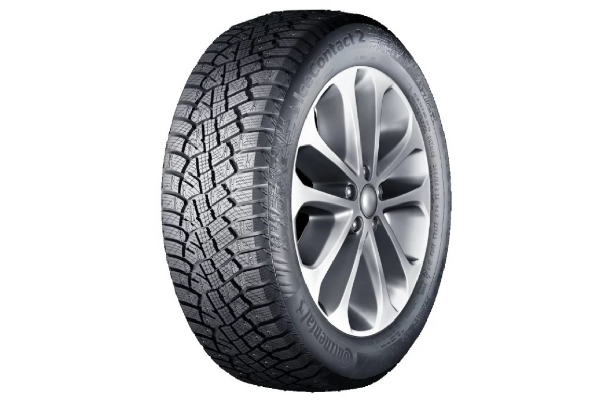 Автошина R17 215/65 Continental IceContact 2 SUV 103T XL шип FR
