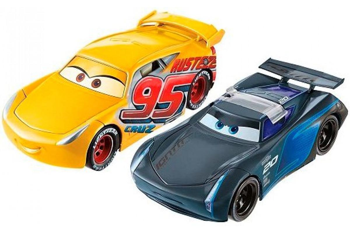 Cars Тачки 3 Машинки - перевёртыши набор Mattel FCX95