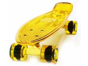 Hubster Cruiser 22 Metallic Пенни борд gold