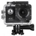 Экшн камера 4K с двойным стабилизатором и гироскопом, черный