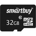 Карта памяти Smartbuy microSDHC Class 10 (10/10MB/s) 32GB