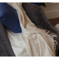 Покрывало INDIBIRD HOME Riviera Collection Марсель Винтажный белый 180х220