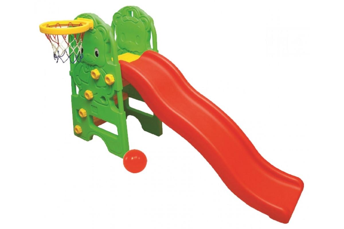 Edu-Play WJ-314 Медвежонок - горка детская