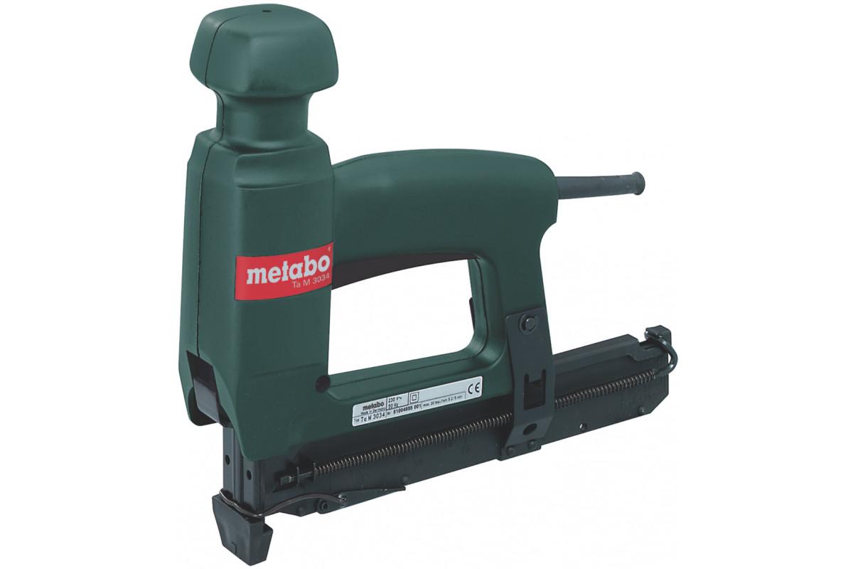 Степлер Metabo Ta M 3034 (603034000)  20уд/мин гвозди 16-30мм скобы 18-30x4мм