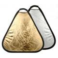 Отражатель треугольный FST TR-051 60см серебро/золото