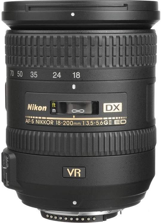 Nikon 18-200mm f/3.5-5.6G ED AF-S VR II DX Уценка 1258