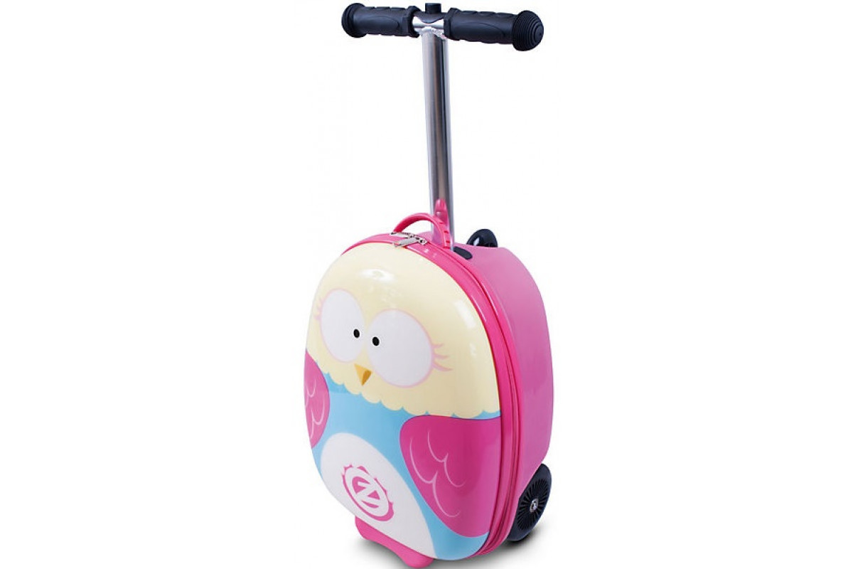 Zinc Самокат-чемодан Owl ZC03909
