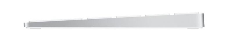 Клавиатура Apple Magic Keyboard with Numeric Keypad серебряная, MQ052RS/A