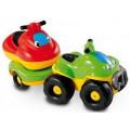 Smoby Квадроцикл с прицепом и гидроцикл