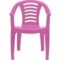 Marian Plast Стульчик детский со спинкой (розовый) 332