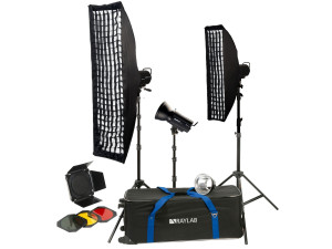 Комплект импульсного света Raylab Sprint II Rtd-400 Bnss Creative Kit
