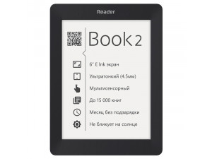 Электронная книга Reader Book 2 черная