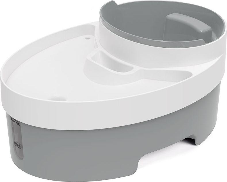 Дозатор воды для животных Petwant PW-101 с многофункциональной емкостью для корма