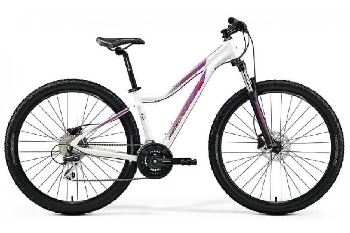 "Велосипед Merida Juliet 7.20-D PearlWhite (Pink) 2019 L(18.5"")(76114)"
