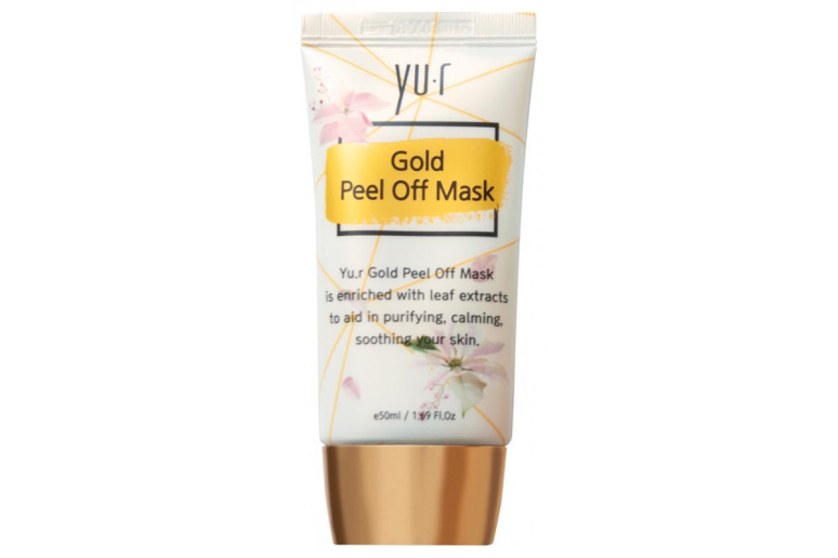 Золотая маска-пленка Gold Peel Off Mask 50 мл.