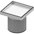 """Основа для плитки """"plate"""" 150 мм с монтажным элементом сталь TECE 3660011"""