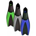 Ласты пластиковые с резиновыми вставками Indigo 6952 45-47 (XL)