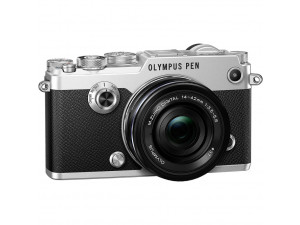 Фотоаппарат Olympus Pen F Kit 14-42mm f/3.5-5.6, серебро