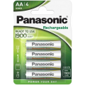 Аккумуляторы Panasonic HHR-3MVE/4BC AA Ni-Mh Ready to use в блистере 4шт 1900мАч