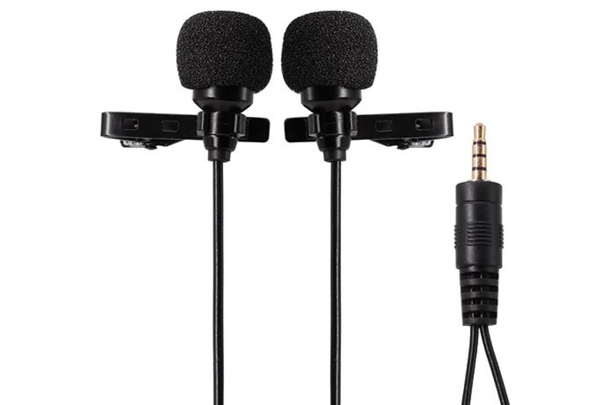 Петличный микрофон Ulanzi DualMic-6M двойной