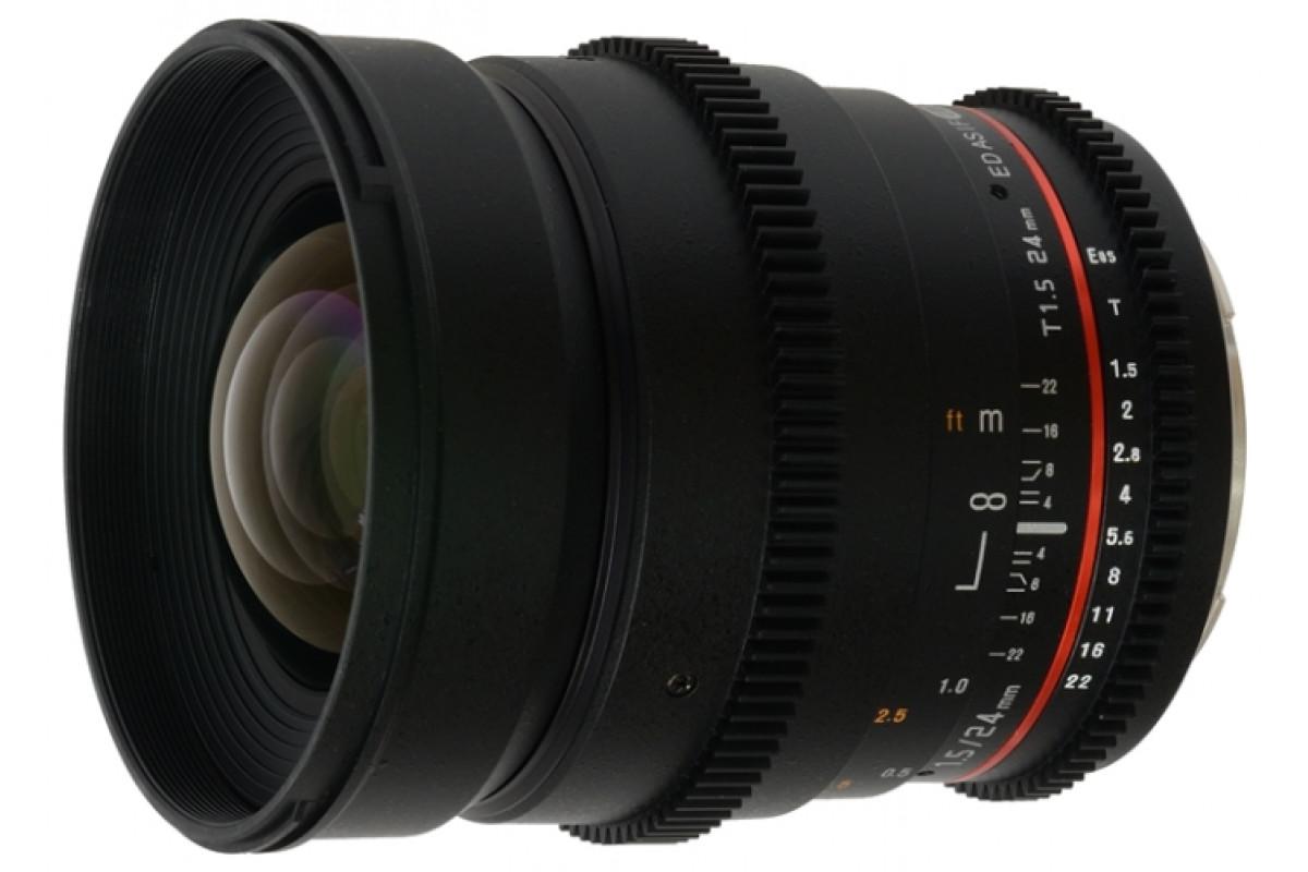 Samyang 24mm T1.5 VDSLR Sony A