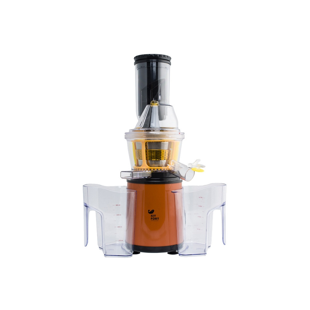 Соковыжималка Kitfort KT-1102 -1 оранжевая
