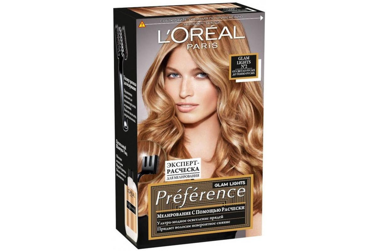 L'Oreal Preference Краска для волос Глэм Лайт тон 2